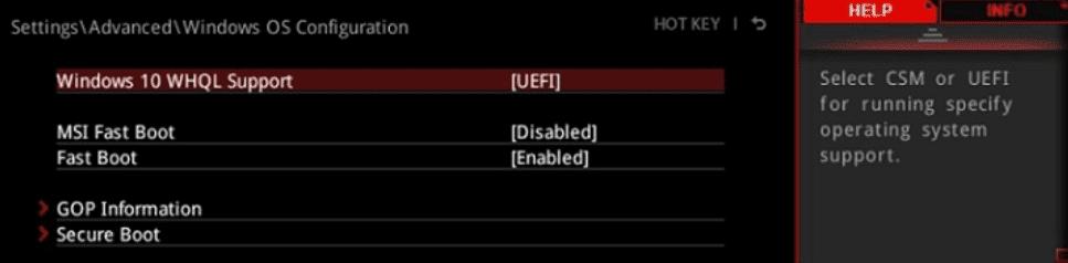 Bios placa base msi1-intel raid