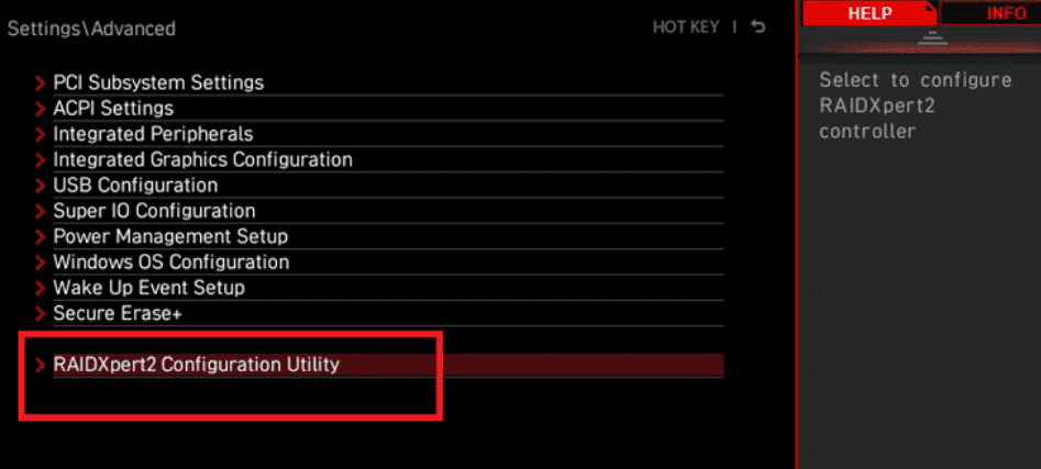raidxpert2 configuration utility msi-amd