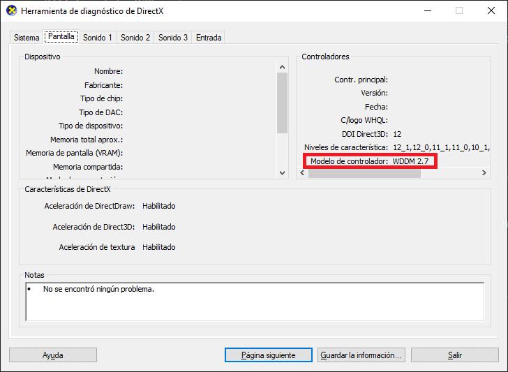 image24 dxdiag modelo de controlador
